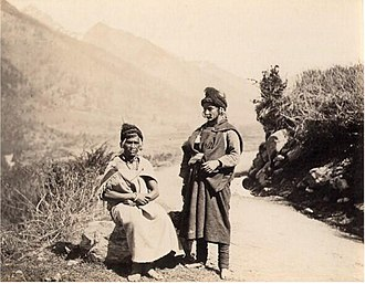 Khas people - Image: Khas women 1880