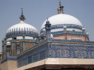 Mithankot - The tomb of Khawaja Ghulam Fareed is located in Mithankot