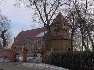 Kijewo Królewskie Village in Kuyavian-Pomeranian Voivodeship, Poland