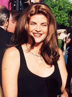 Kirstie Alley - Alley at the 1994 Emmy Awards