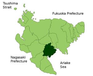 Kishima District, Saga - Kishima District in Saga Prefecture