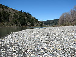 A view of the Klamath River, 2006.