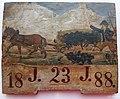 Kmet gnoji njivo (panjska končnica, 1888).jpg