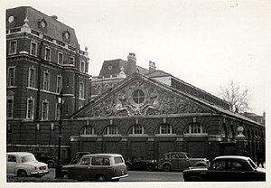 Hyde Park Barracks, London - Knightsbridge Barracks in 1959