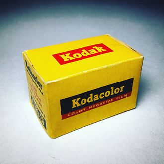 Kodacolor (still photography) - Kodacolor C135-20 Film box, ca. 1960