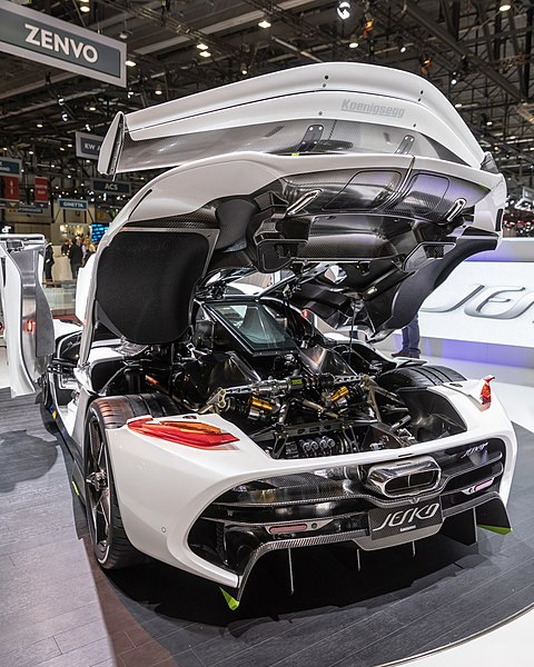 Koenigsegg Jesko: File:Koenigsegg Jesko, GIMS 2019, Le Grand-Saconnex