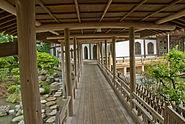 Komyoji Corridor near Pond Kamakura