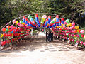 Korea-Gangwon-Woljeongsa Entrance 1687-07.JPG