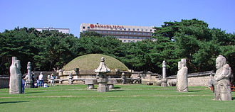 Royal Tombs of the Joseon Dynasty - Seolleung - Tomb of King Seongjong