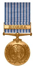 Korea Medaille van de Verenigde Naties