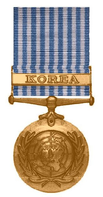 United Nations Korea Medal - Image: Korea Medaille van de Verenigde Naties