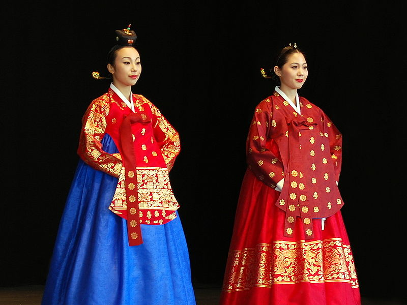 파일:Korean costume-Hanbok-Dangui-Seuranchima-01.jpg
