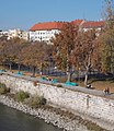 Kosárlabdapályák a Petőfi híd felől nézve, 2018 Ferencváros.jpg