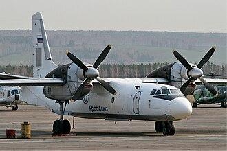 KrasAvia - KrasAvia Antonov AN-32