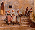 Kristian Zahrtmann - Young women transporting lime. Civiitá d' Antino - Google Art Project.jpg