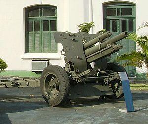 7.5 cm FK 18 - Export version in Brazilian museum