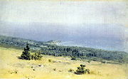 Kuindzhi View of the shore and the sea from the mountains 1880s.jpg