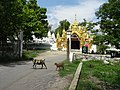 Kuthodaw Pagoda west entrance.jpg