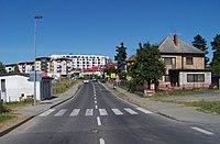 Kyje-Hutě, Za černým mostem, od mostu.jpg