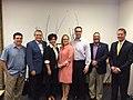 Kyrsten Sinema with the Arizona Hispanic Chamber of Commerce in 2013.jpg
