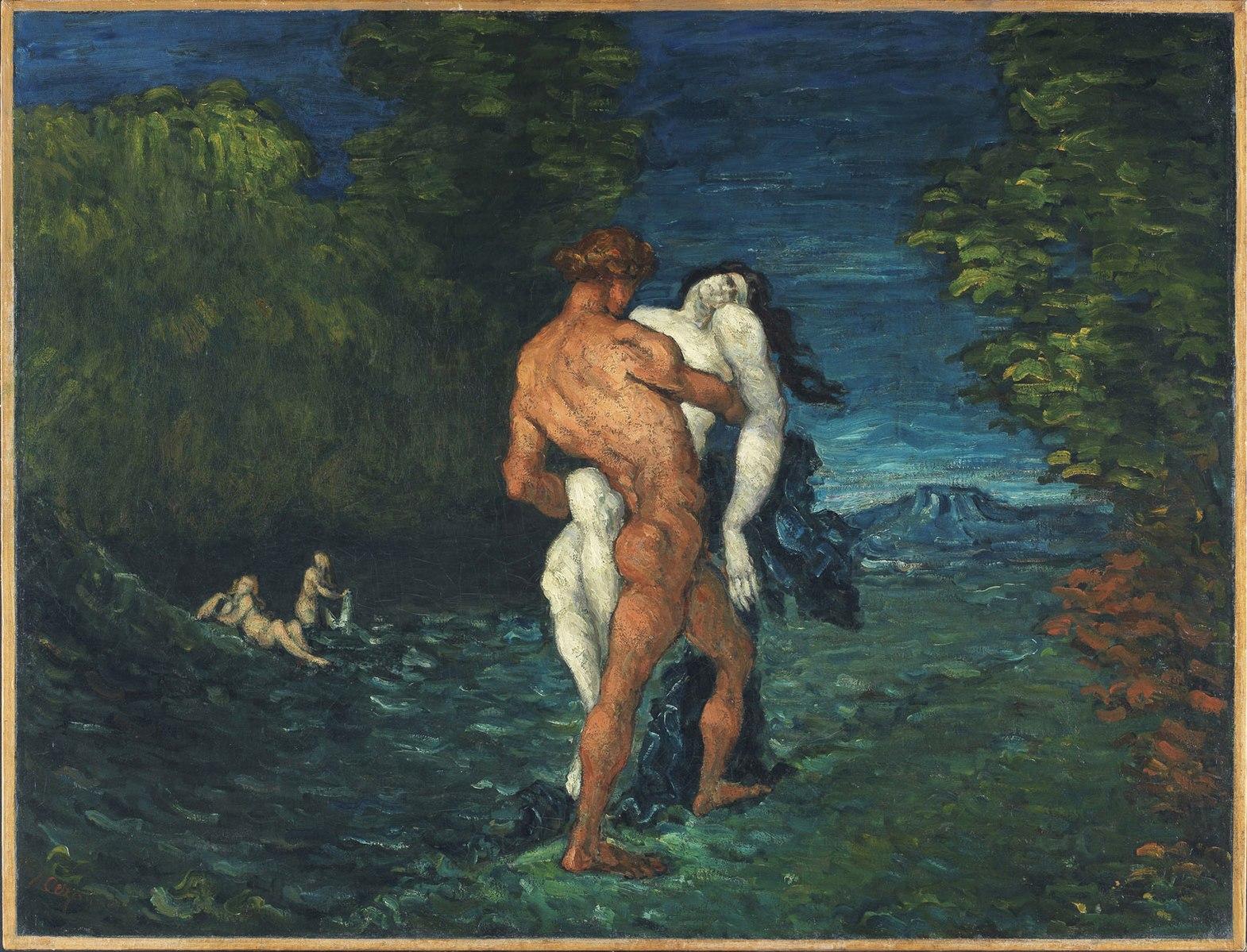 The Abduction, 1867 (L'Enlèvement)