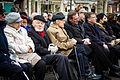 Léon Nisand et Gilbert May Yom HaShoah Strasbourg 7 avril 2013.jpg
