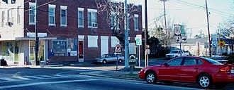 Hammond, Louisiana - Image: LA 1065 Hammond terminus Dantone