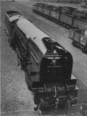 LNER P2 Cock O' The North in 1934