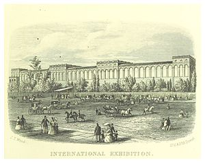 Annual International Exhibitions (London 1871–74) - The International Exhibition building, 1872