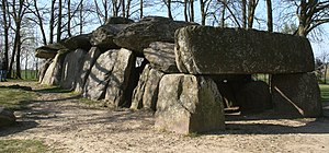 Essé - La Roche-aux-Fées, a dolmen