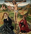 La Crucifixión, atribuida al Maestro de Ávila (Museo del Prado).jpg