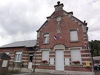 La Neuville-en-Beine (Aisne) mairie.JPG