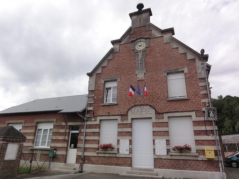 La Neuville-en-Beine (Aisne) mairie