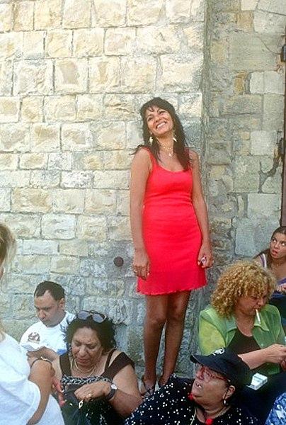La Sardinha aux Saintes-Maries-de-la-Mer lors du pèlerinage gitan
