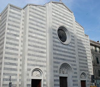 La Spezia - The Church of Our Lady of the Assumption, thirteenth century.