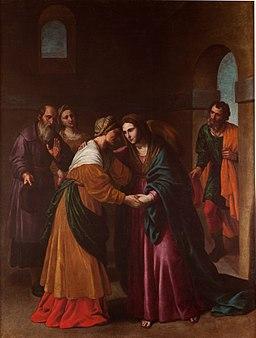 La Visitación, de Alessandro Turchi (Museo del Prado)