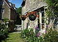 Lacock - Picturesque architecture 13-18. Cent. front garden.jpg