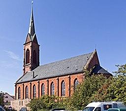 Ladenburg Evangelische Stadtkirche 20100921