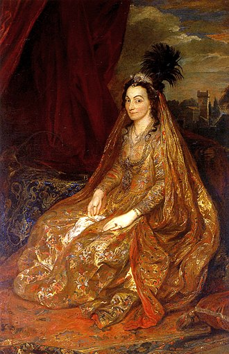 1622 in art - Image: Lady Shirley by Anthony van Dyck, c. 1622