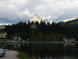 Auronzo di Cadore - Image: Lago di Misurina 2