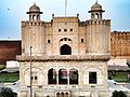 Lahore Fort main enterence with Bara Darri.jpg