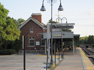 Lake Bluff, Illinois - Lake Bluff Metra Station