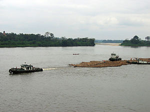 Helene Bresslau Schweitzer - The Ogooué River flowing past Lambaréné