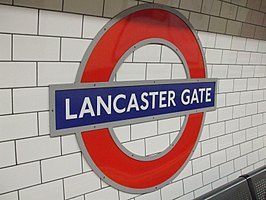 Lancaster Gate tube station