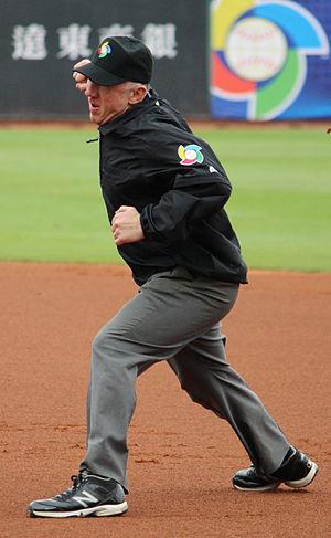 Lance Barksdale - Barksdale umpiring in the 2013 World Baseball Classic