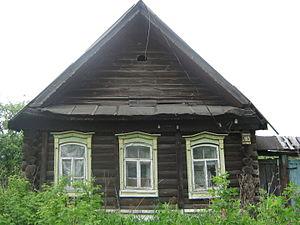 Картинка дом в деревне для детей