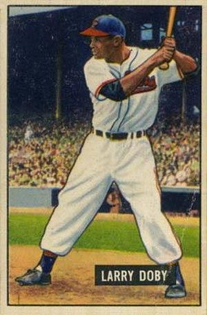 Larry Doby - Image: Larry Doby 1951