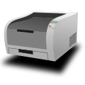 Laser printer isometric.svg