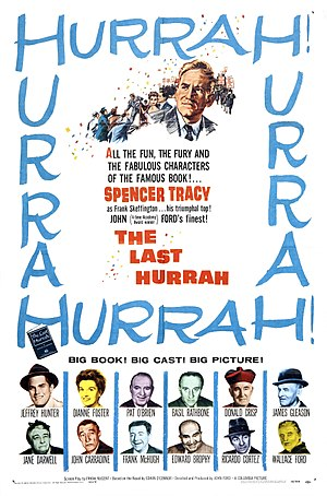 The Last Hurrah (1958 film) - U.S. movie poster