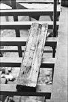 latei, afkomstig uit de rechter zijmuur ( begane grond achteraan) - amersfoort - 20010344 - rce